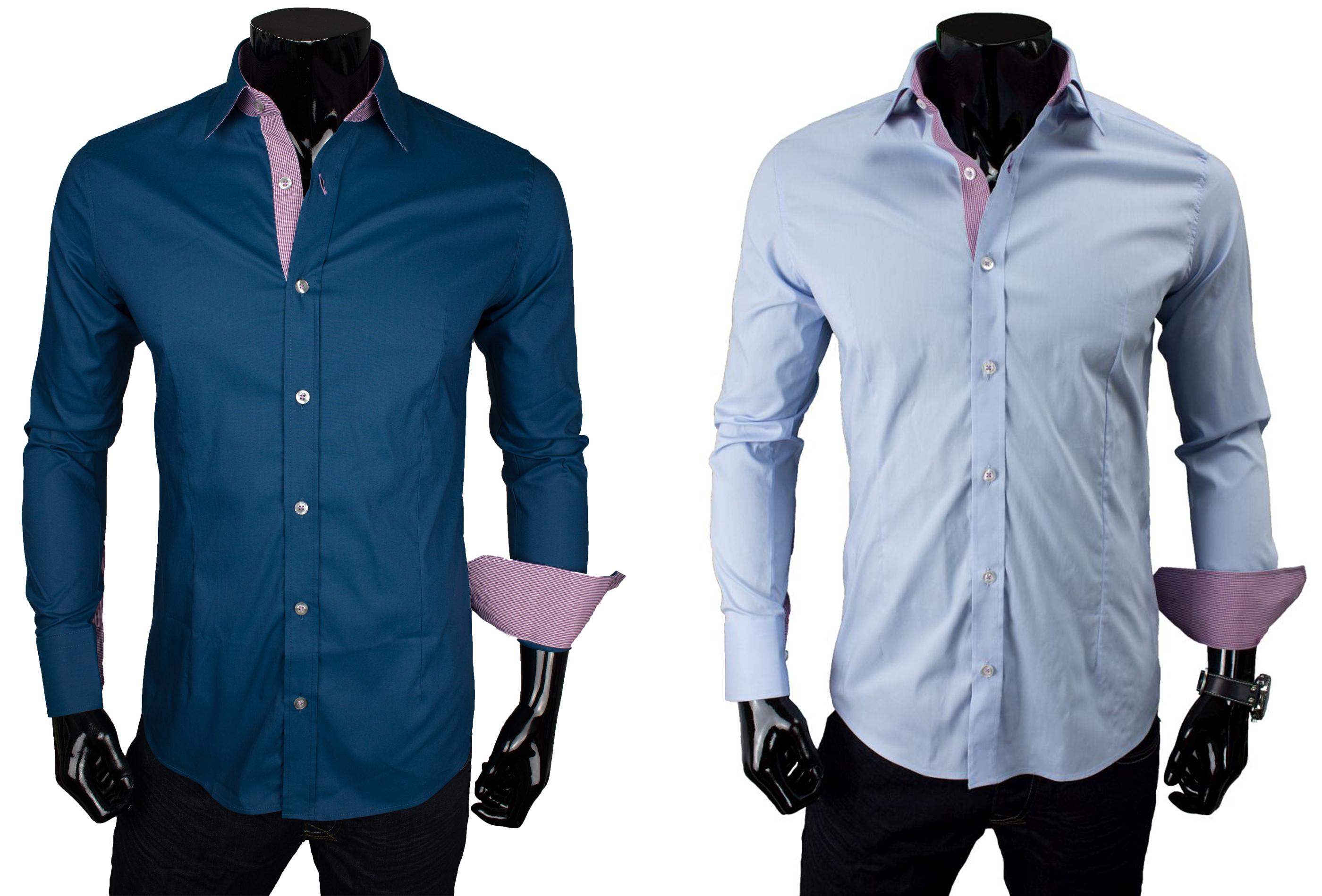 redbridge herren hemd langarm kurzarm hochzeit business anzug freizeit slim fit ebay. Black Bedroom Furniture Sets. Home Design Ideas
